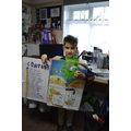Year 5 winner - Toby dressed as a book!