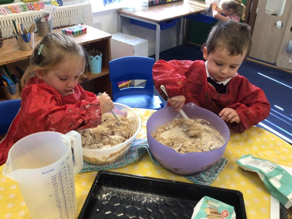 We enjoyed making the Harvest Loaf