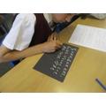 Handwriting practice