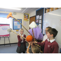 Revising the parts of a flower