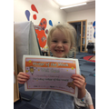 Writer of the week!