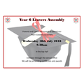 Invitation to Year 6 Leavers Assembly