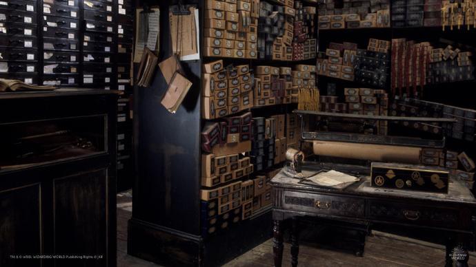 Harry Potter Ollivanders shop