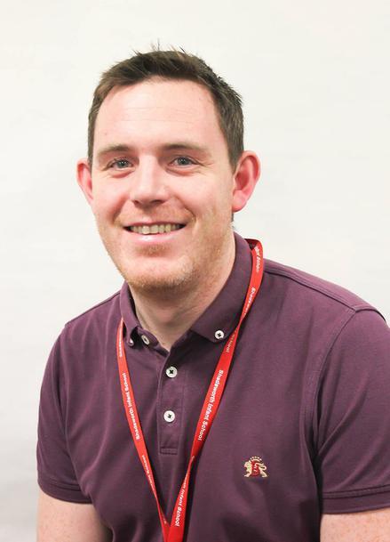 Mr C Mooney - Pupil Well-being Coordinator