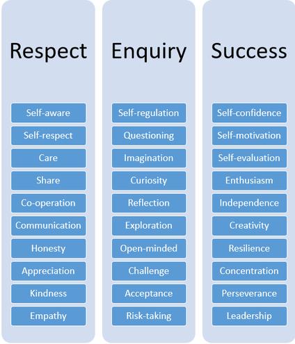 SJS Character Values