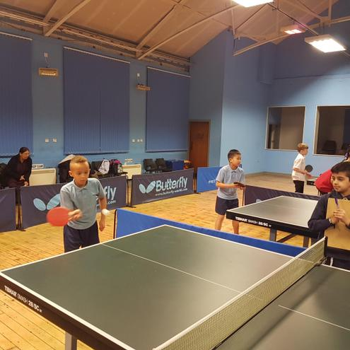 Inter school table tennis tournament