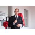 Prince Edward officially opening our school