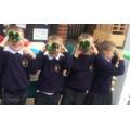 We had fun making Binoculars