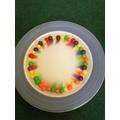 Skittle rainbow!