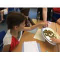 We tasted traditional Roman food.