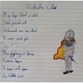 Alexander wrote a fantastic Viking poem!