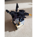 Henry (C5) created a Viking house from Lego.