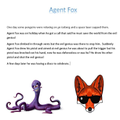 Karl (C5) wrote a story about Agent Fox.