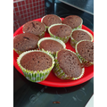 Melissa (C5) has been busy baking brownies! Yum!
