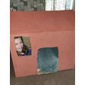 Melissa (C5) made an amazing Viking house