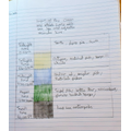 Ruby's writing about the ocean layers