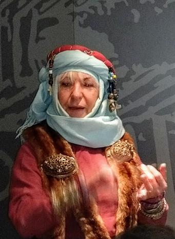 A Viking Merchant At Jorvik Viking Centre
