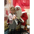 Joules meeting Santa.