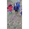 William & Leighton found thick oozy mud!