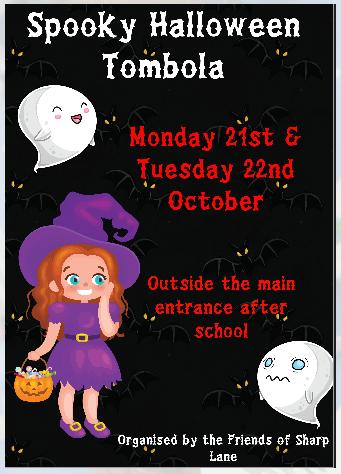 Halloween Tombola