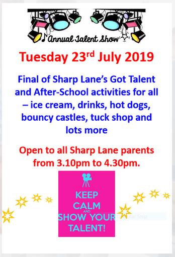 Sharp Lane's got Talent