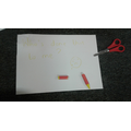 Note left by the yellow crayon