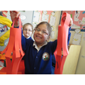 Isabel was very proud of her Chinese Lanterns