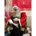 Harry meeting Santa.