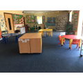 The Nursery with tables and clear spaces