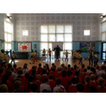 Dance Club performing in assembly Summer 2014!