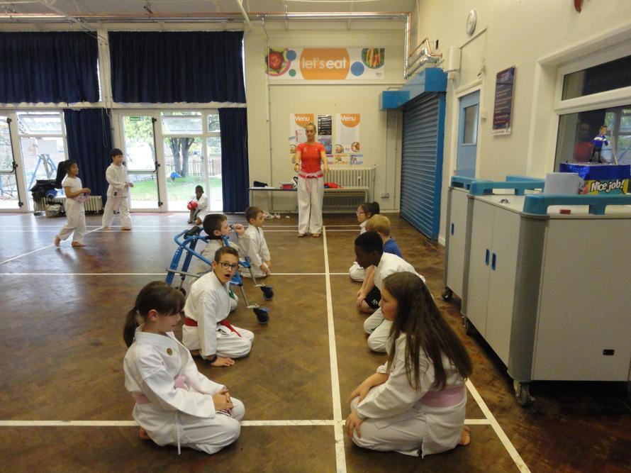 Getting prepared to start Karate