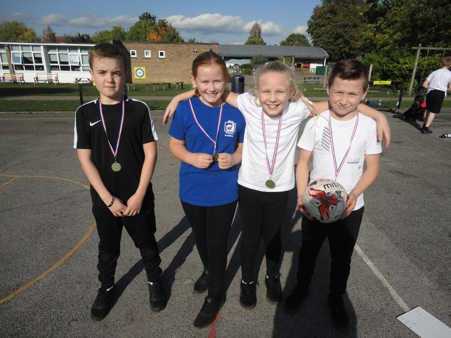 6T football competition winners!