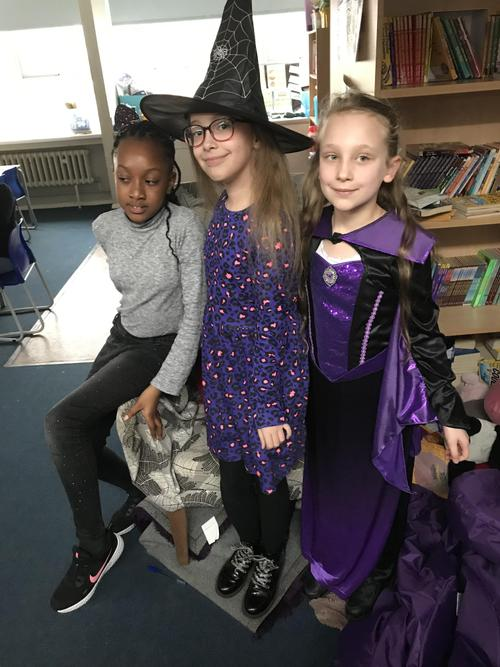 A cat, a witch and maleficent