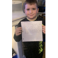 Zac worked really hard this week, 10/10 spellings and fabulous writing!
