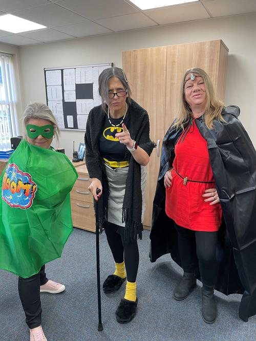 Mighty Boom, Bat Nan & Rock Warrior