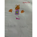 Gracie's work for mental health week