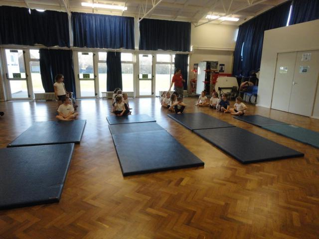 Learning how to safely use the mats