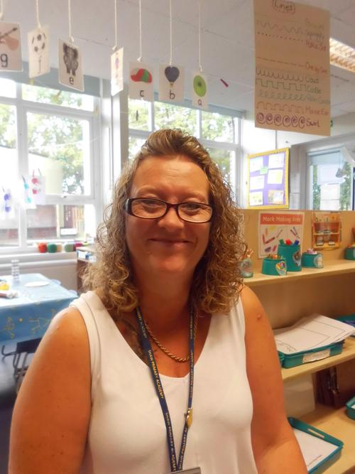 Mrs Patterson, Higher Level Learning Support Asst