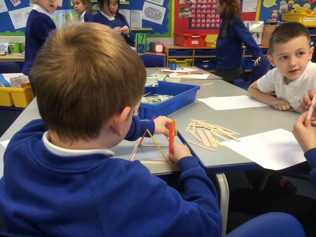 We tested each pyramid in a fair test!