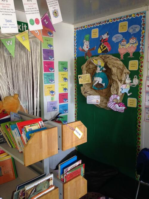Our amazing reading area!