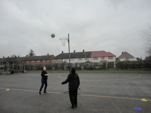Shooting practice.