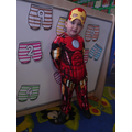 'I'm Iron man. i can fly to the moon'