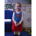 'I am Supergirl i can fly'