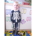 'I'm skeleton, I can run'