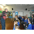 A visit from the storyteller