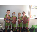 We are Ninja Turtles!!