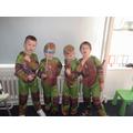 We are Ninja Turtles!!