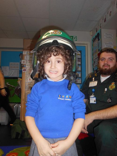 Nikol the paramedic!