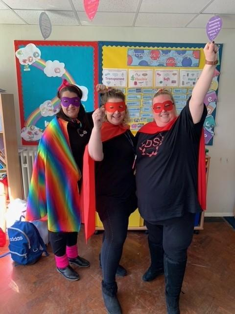 Look at these Super Heroes from 5MD