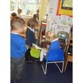 Role play library in Nursery